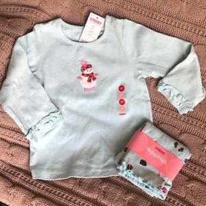 GYMBOREE girls winter outfit set ☃️☕️🧣🧤